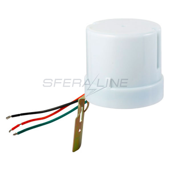 Сутінкове реле e.sensor. light-conrol.303.white, 25А, IP44, E.NEXT